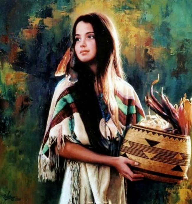 rostros-al-oleo-de-indios-apaches